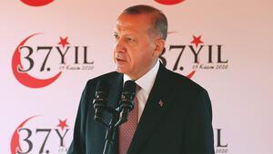 Son dakika... KKTCde tarihi gün Cumhurbaşkanı Erdoğandan önemli mesajlar: Artık tahammülümüz kalmamıştır