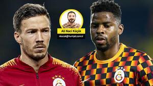 Son Dakika Haberi | Galatasarayda sahne sırası gözden düşen Donk ve Linneste