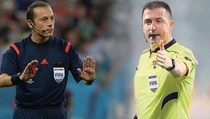 UEFAdan Cüneyt Çakır ve Hüseyin Göçeke görev Uluslar Ligi...