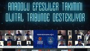 Anadolu Efesten Dijital Tribün atılımı Bayern maçında 200 taraftar...