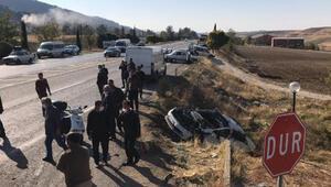 Adıyamanda zincirleme kaza: 1, ölü, 4 yaralı