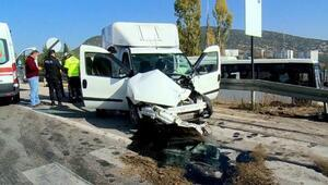 Ispartada kaza: 1 yaralı