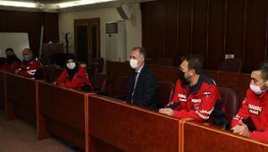 İnegöl Belediye Başkanı Taban'dan deprem kahramanlarına teşekkür