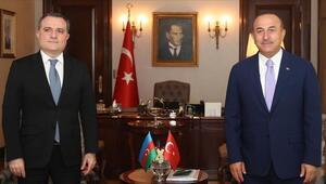 Dışişleri Bakanı Çavuşoğlu, Azerbaycanlı mevkidaşıyla görüştü
