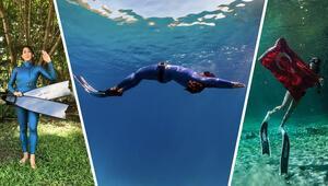 Serbest dalışçı Fatma Uruk, Meksikada dünya rekoru denemeleri yapacak