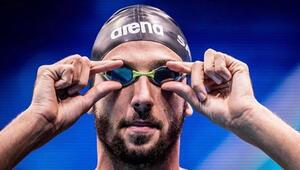 Emre Sakçı, Uluslararası Yüzme Liginde bir yarış daha kazandı