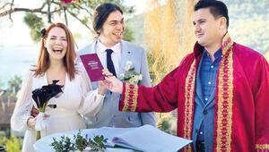 Aylin Aslım, flüt sanatçısı Utku Vargı'yla evlendi
