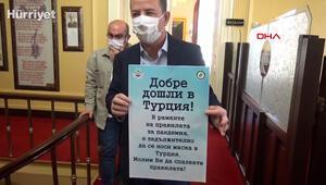 Edirneye gelen Bulgar turistlere özel koronavirüs tedbirle