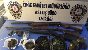 İznikte uyuşturucu operasyonu: 4 gözaltı