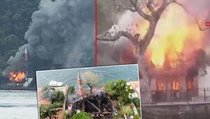 Son dakika haberler: İşte itfaiye raporuna göre Vaniköy Cami yangınının sebebi