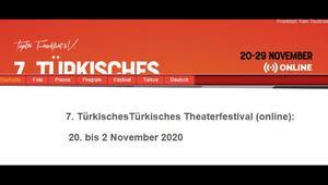 Frankfurt Türk Tiyatro Festivali'nden dijital sanat çıkarması