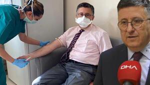Son dakik haberleri... Uğur Şahin ve Özlem Türecinin bulduğu aşının ikinci dozu ünlü profesör Necmettin Ünala yapıldı