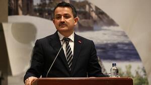 Bakan Pakdemirliden İstanbul ve Ankaranın su ihtiyacına ilişkin açıklama