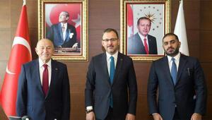 Son Dakika | Gençlik ve Spor Bakanı Mehmet Muharrem Kasapoğlu, yayıncı kuruluş ile anlaşıldığını açıkladı