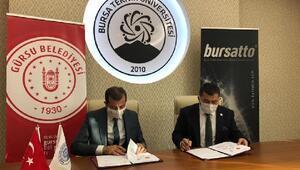 Gürsu Belediyesi, BTÜ ile işbirliği protokolü imzaladı