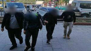 Hırsızlık şüphelilerini, güvenlik kamerası görüntüleri yakalattı
