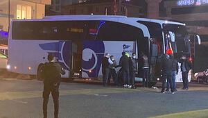 Son dakika haberi: İstanbulda otobüs terminalinde heyecanlı dakikalar Üzerimde bomba var
