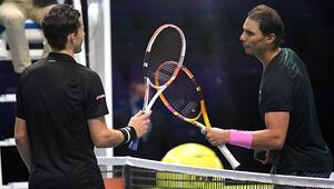 Erkekler sezon sonu turnuvasında Avusturyalı Thiem, İspanyol Nadalı 2-0 mağlup etti