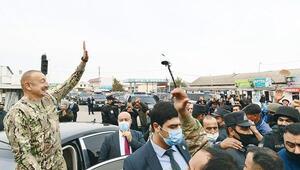 Aliyev'den zafer turu