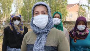Gönüllü kadınlar ilçe mezarlığının temizlik ve bakımını üstlendi