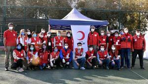 Yardımlarla İzmirin yaralarını sarıyorlar