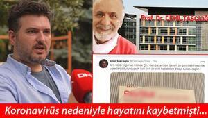Son dakika haberler: Koronavirüs nedeniyle hayatını kaybeden Cemil Taşçıoğlunun oğlu, Kim derdi ki...  mesajıyla paylaştı
