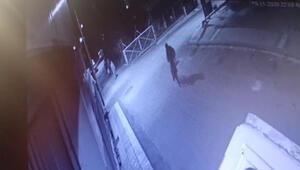 Mersinde kapkaç şüphelileri güvenlik kamerası görüntülerinden yakalandı