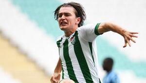 Ali Akmanın her 3 pozisyonundan biri gol - Bursaspor Haberleri