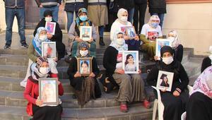 Diyarbakırda HDP önündeki eylemde 443üncü gün; aile sayısı 158 oldu