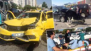 Son dakika haberler: Ehliyetine el konulan sürücü zincirleme kazaya neden oldu: 6 yaralı