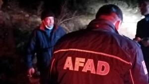 Mantar toplarken kaybolan adamı AFAD buldu