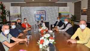 MATSO üyeleriyle online toplantı