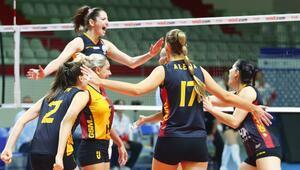Voleybol: Misli.com Sultanlar Ligi - Türk Hava Yolları: 2 - Galatasaray HDI Sigorta: 3