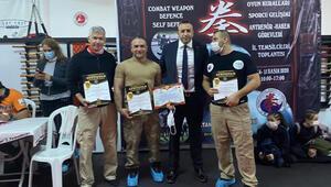 Polis ve askerlerden, kempo savunma sporlarına büyük ilgi