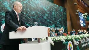 Erdoğan'dan Merkez Bankası'nın faiz kararı öncesinde kritik mesajlar: 'Yüksek faize yatırımcımızı ezdirmemeliyiz'