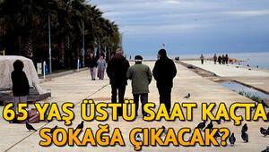 65 yaş üstü sokağa çıkma yasağı ne zaman başlıyor 65 yaş üstü sokağa çıkma yasağı saat kaçta İçişleri Bakanlığı genelge yayınladı