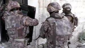 Gaziantepte 4 mahallede uyuşturucu operasyonu... Çok sayıda gözaltı