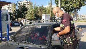 İkinci kez cam filmle yakalanan sürücüden ilginç savunma
