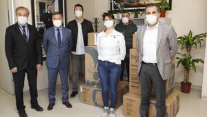 AÜ Hastanesine ventilasyon cihazı bağışı