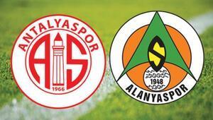 Süper Ligde 22 Kasım Pazar günü Antalya derbisi oynanacak