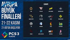 PCS3 Avrupa Büyük Finalleri'nin Son Hafta Sonu Bu Cumartesi Başlıyor