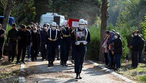 Diyarbakırda hayatını kaybeden uzman çavuş, toprağa verildi