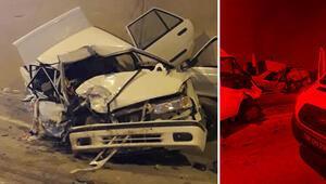 Artvinde minibüsle otomobil çarpıştı: 1 ölü, 4 yaralı