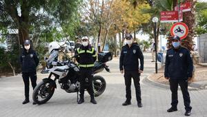 Datçada kurallara uyamayan 11 motosiklet sürücüsüne ceza yağdı