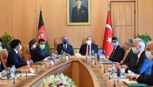 TBMM Başkanı Mustafa Şentop, Afganistan Milli Uzlaşı Yüksek Konseyi Başkanı ile görüştü