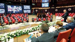 TOBB üyeleri Cumhurbaşkanı Erdoğana beklenti ve taleplerini iletti... İş dünyasından istikrar vurgusu