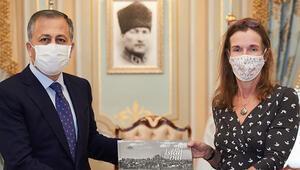 İngiltere Başkonsolosu Slaterdan Vali Yerlikayaya veda ziyareti