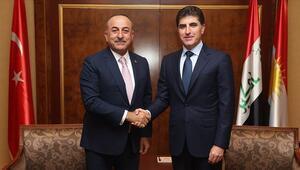 Dışişleri Bakanı Çavuşoğlu, IKBY Başkanı Barzaniyle telefonda görüştü