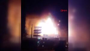 Son dakika haber... Bahçelievlerde tekstil atölyesindeki patlamadan yeni görüntü