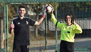 İkizlerin biri Beşiktaş'ın kalecisi, diğeri hakem; ortak hayalleri ise Süper Lig